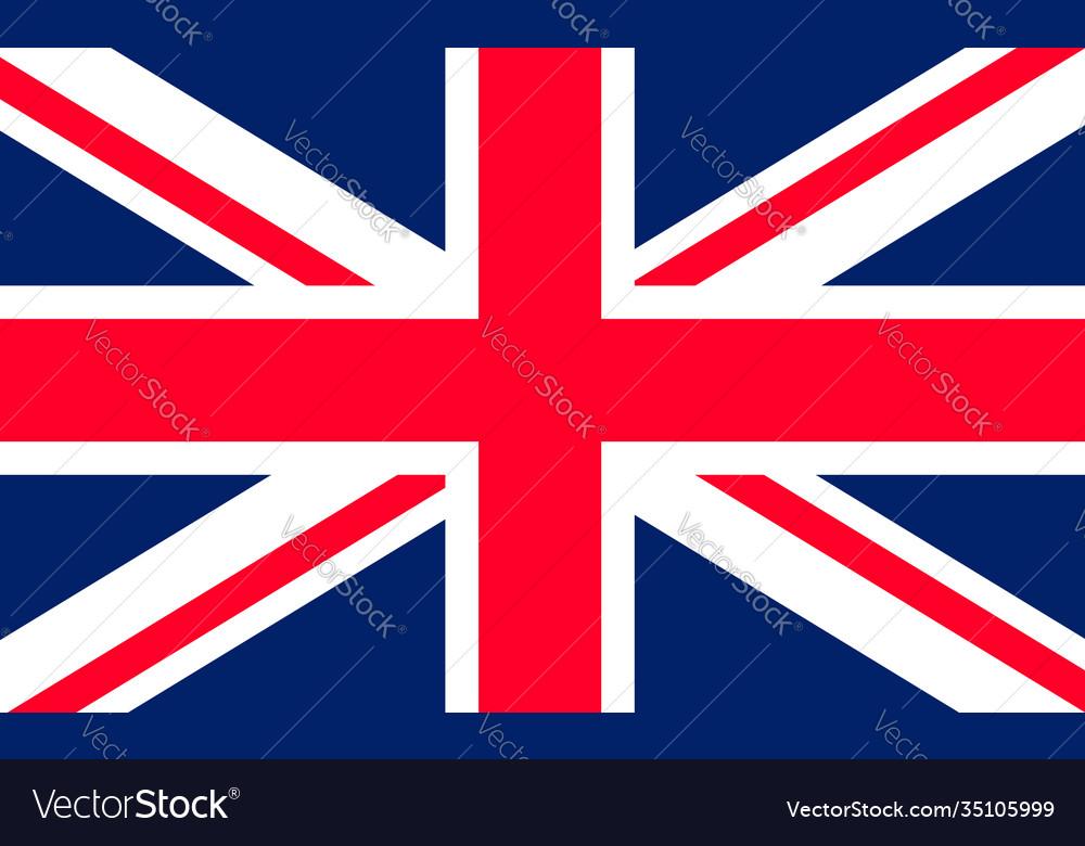 Flag uk union jack british icon england or great