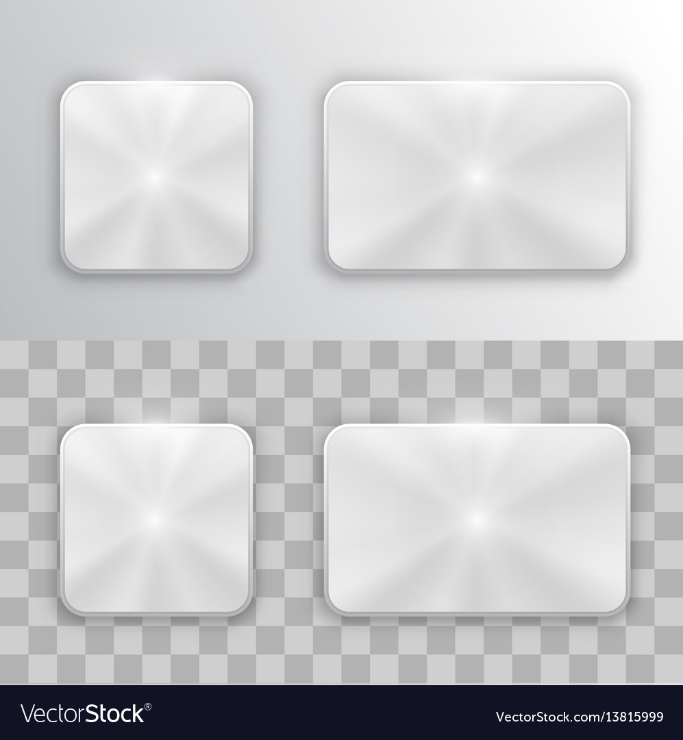 Set metal buttons
