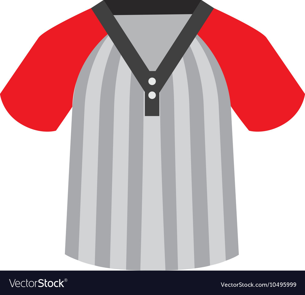 Shirt baseball icon isolated