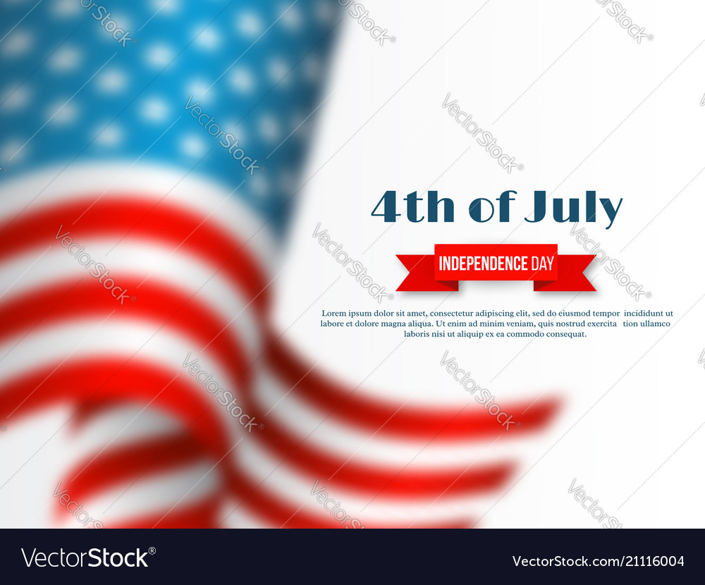 4th of july - independence day of america holiday