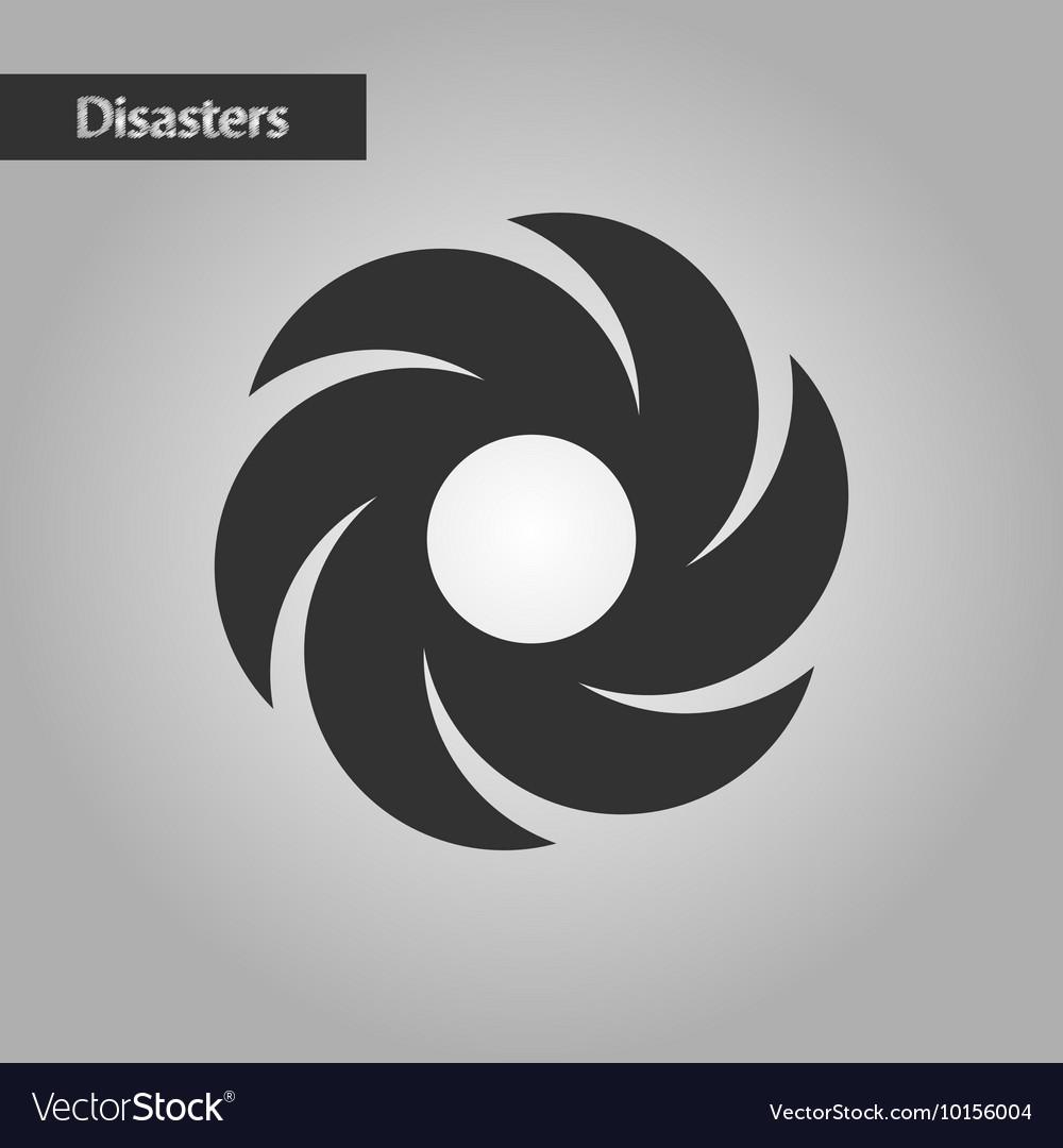 windvane silhouette simple black icon