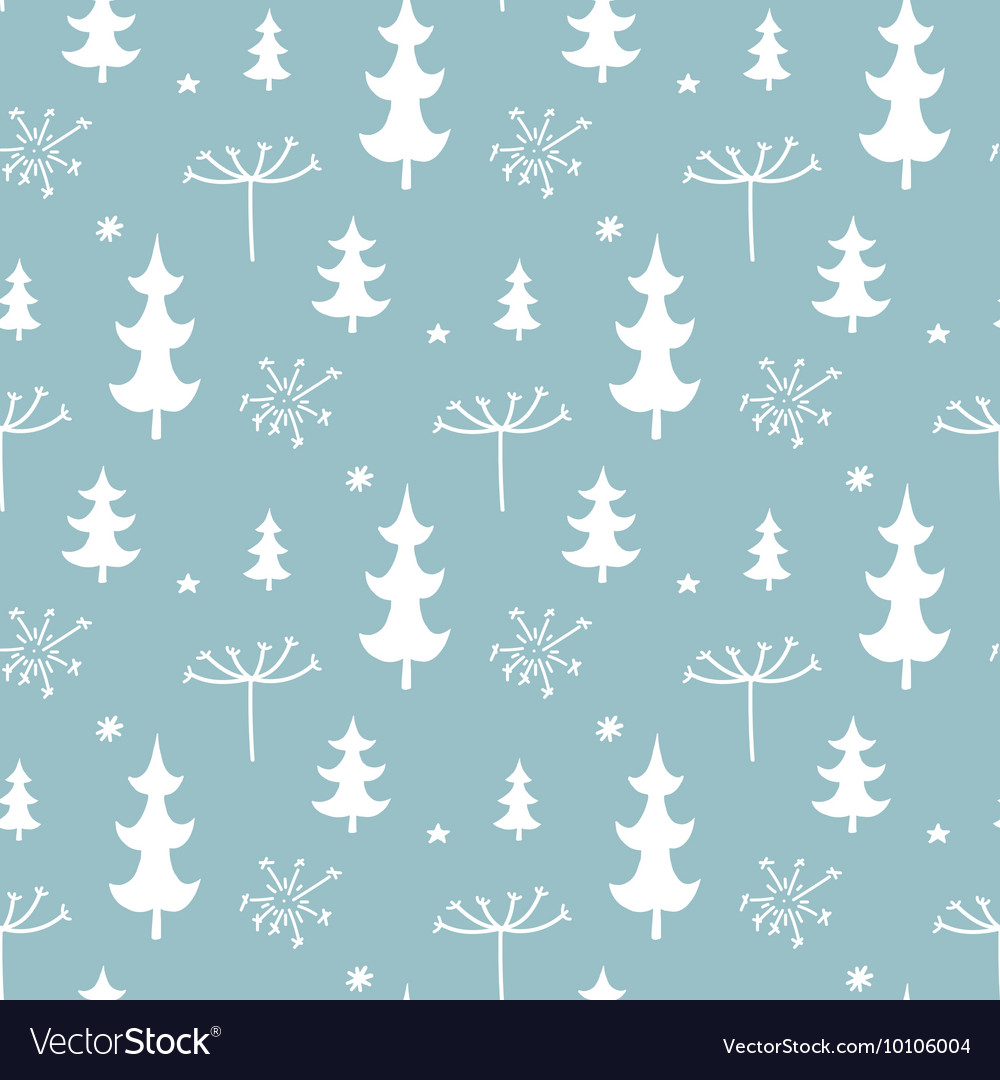 Seamless Tiling Pattern Vector Image