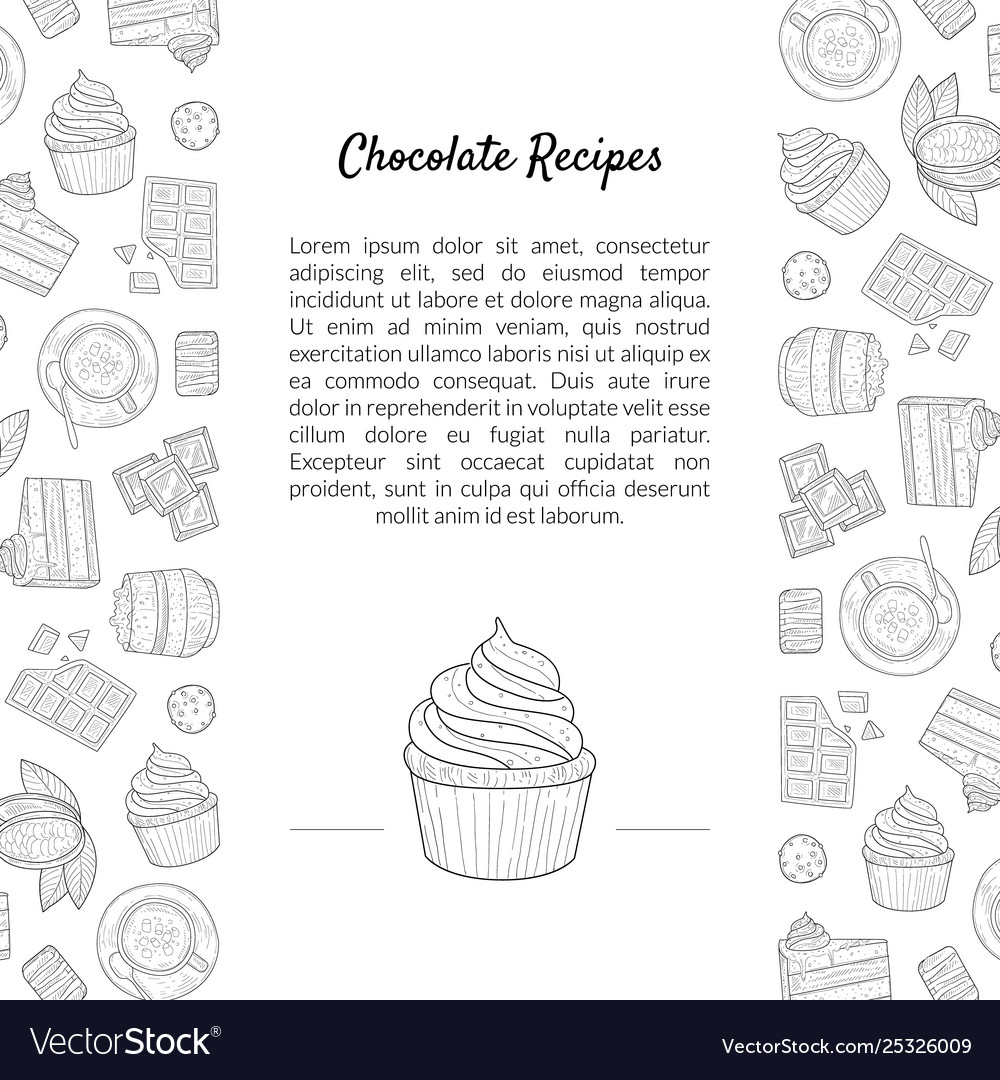 Chocolate recipes natural chocolate banner