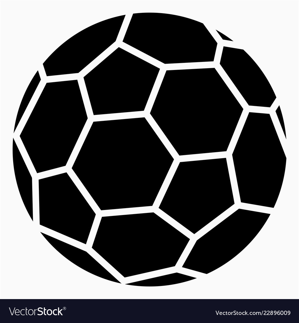 Handball Ball Icon Royalty Free Vector Image Vectorstock