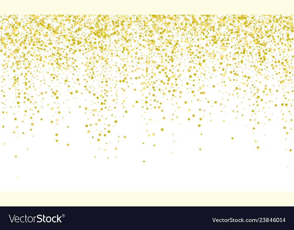 Confetti golden background falling carnival or