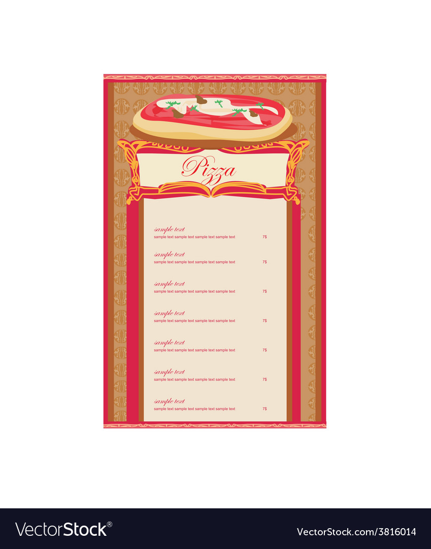 angularjs external template - pizza menu template image collections template design ideas