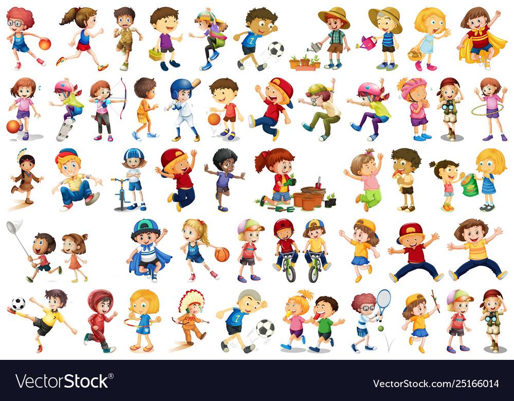 Set children character