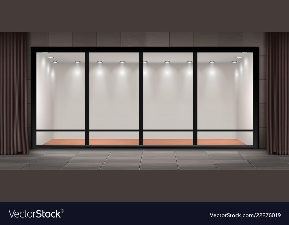 Prime Storefront Empty Illuminated Showroom Download Free Architecture Designs Scobabritishbridgeorg