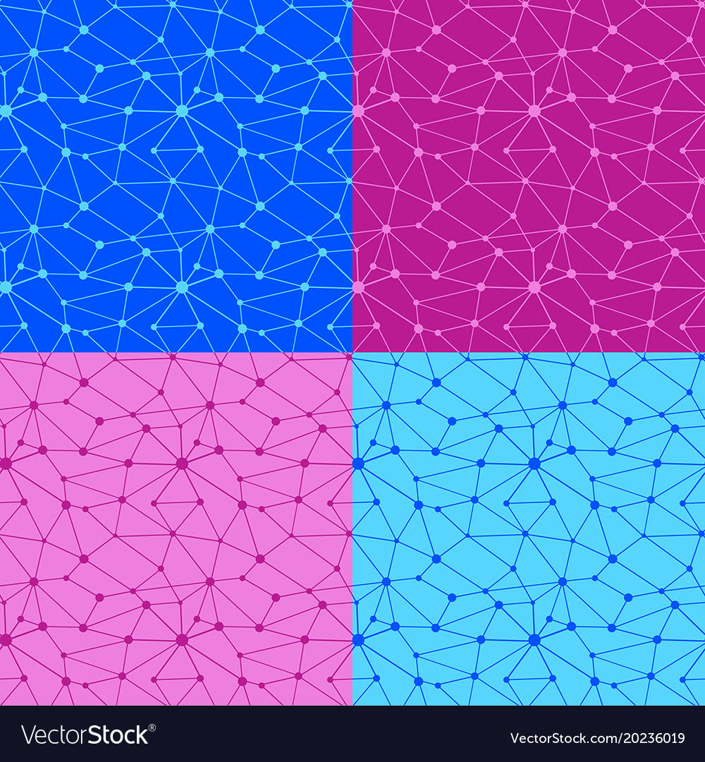 Web net seamless patterns