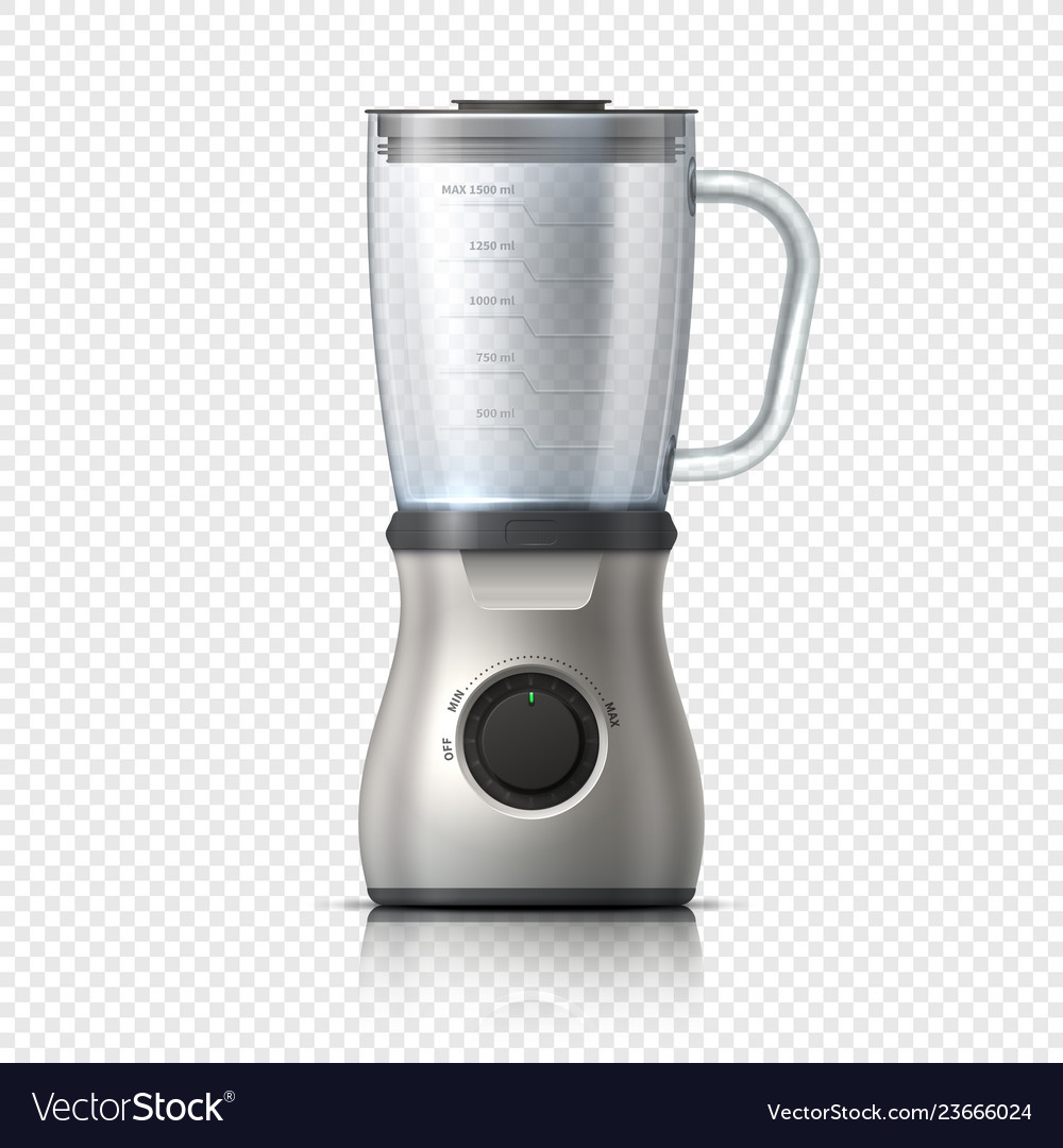 Blender empty juicer or food mixer isolated