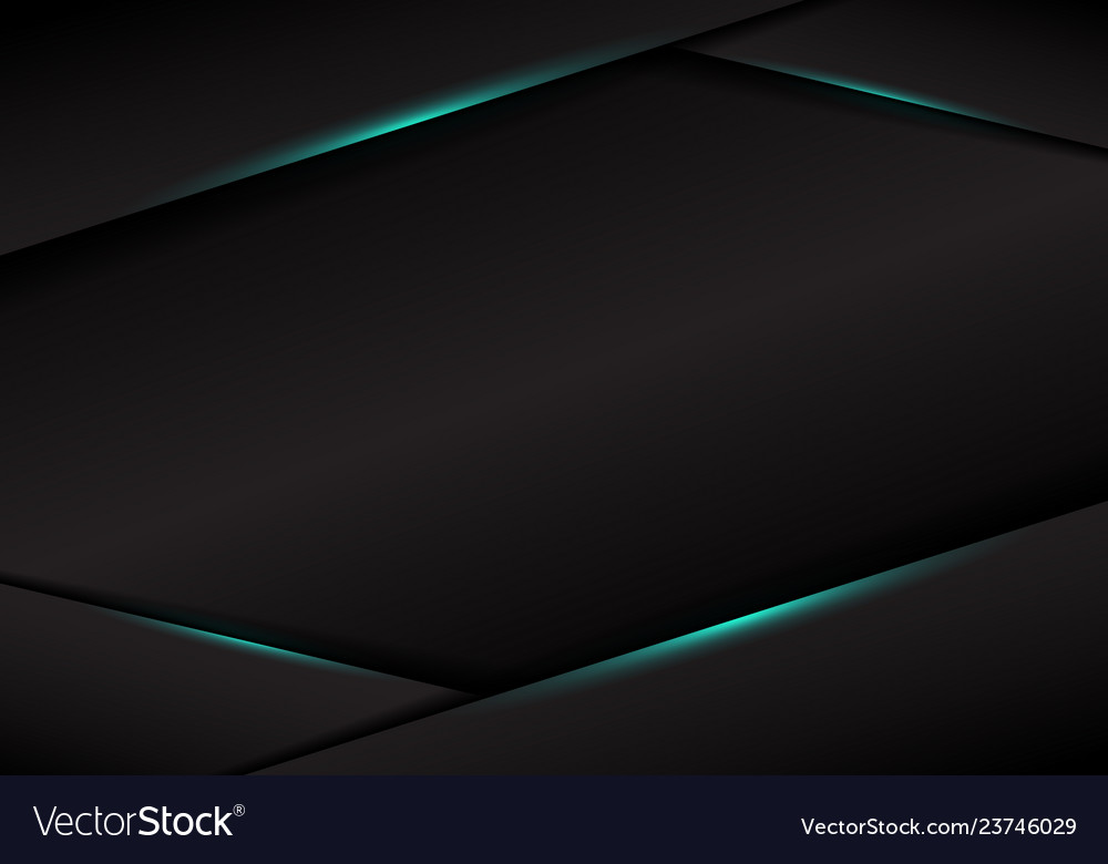 Abstract template black frame layout metallic