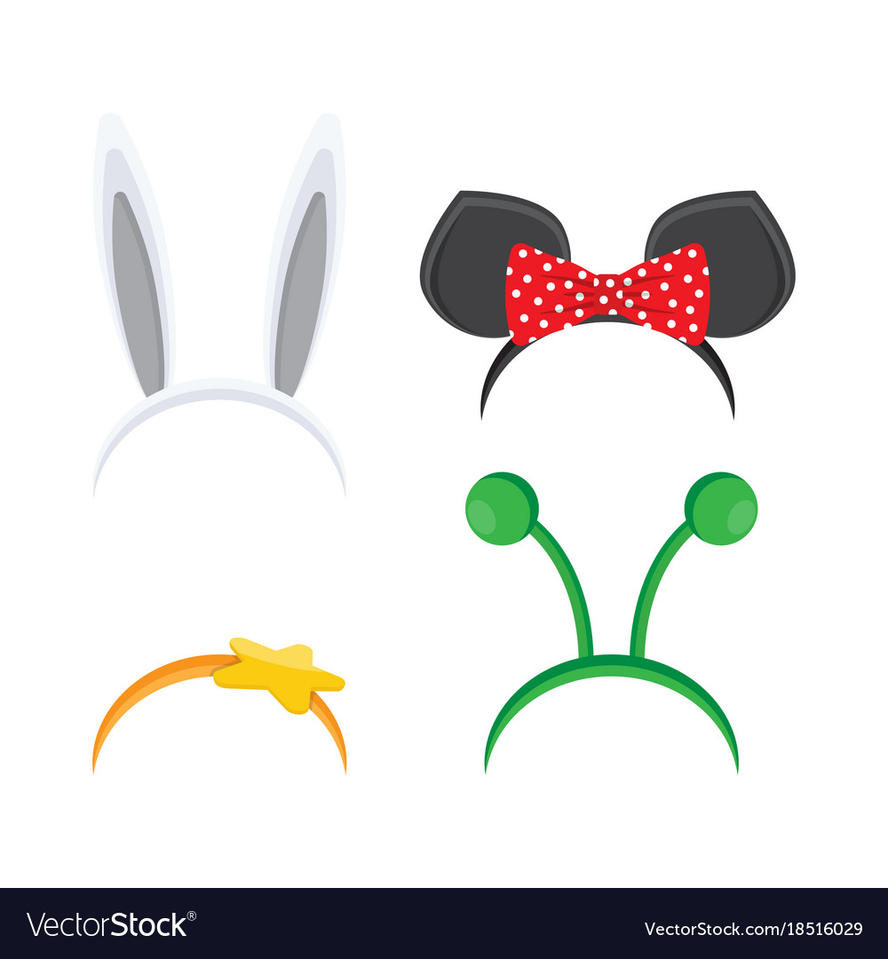 Hoop on head set ears animals