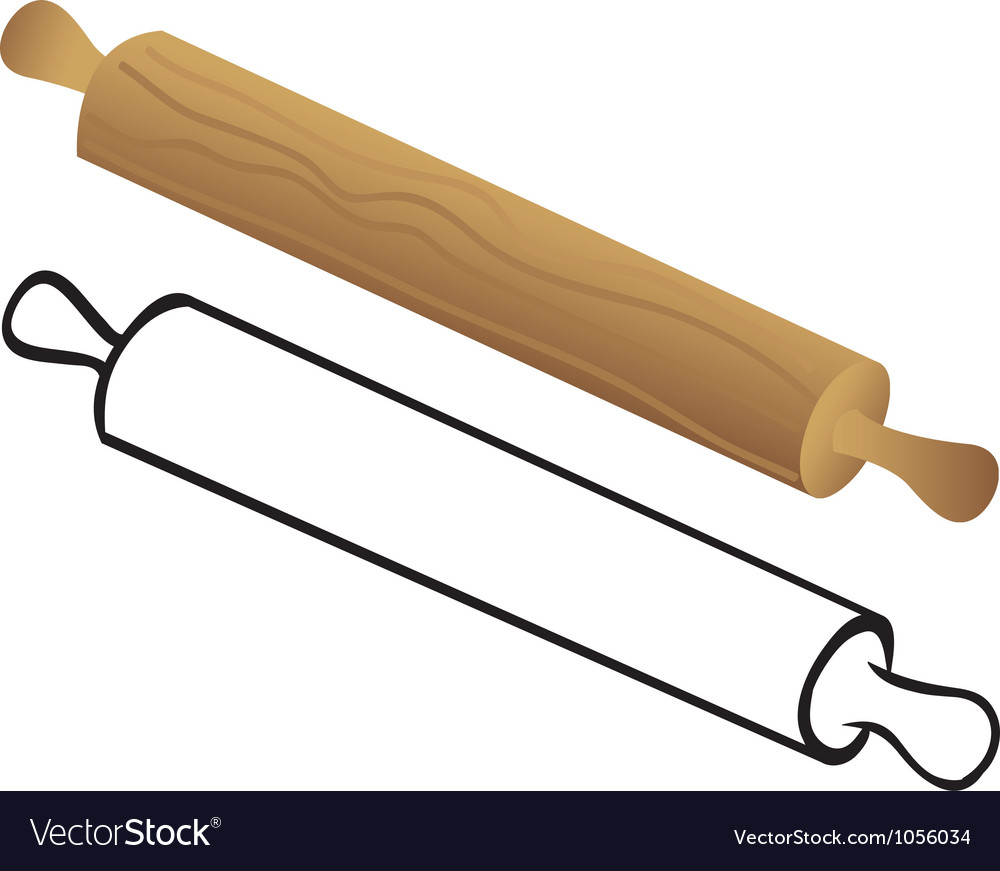 Rolling pin for dough