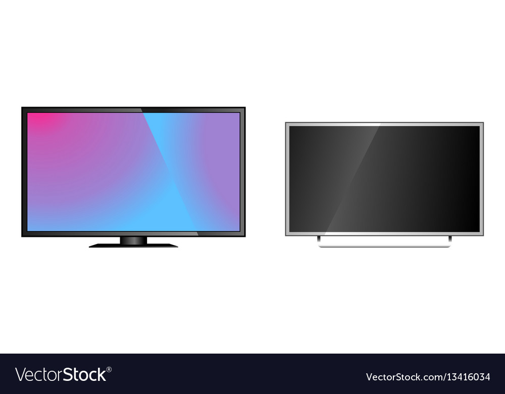 Tv screen lcd monitor template electronic device