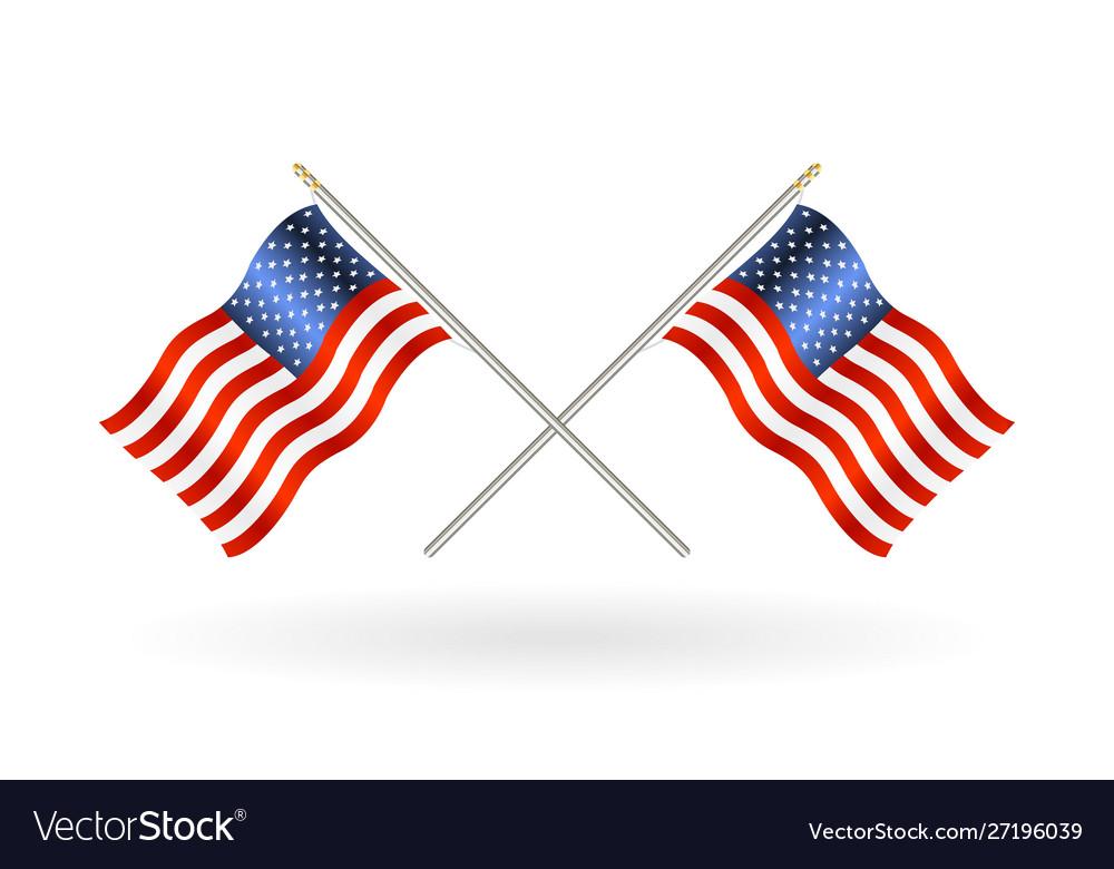 Cross united states america flag