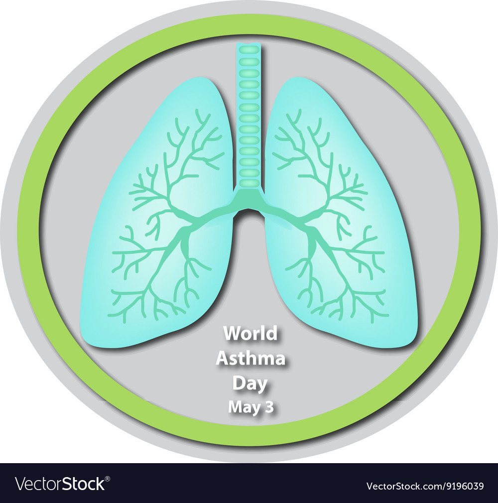 World Asthma Day - May 3 Lungs Baner