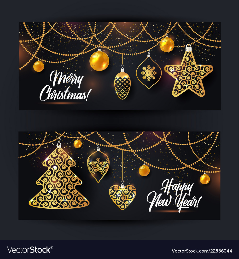 Banners of christmas