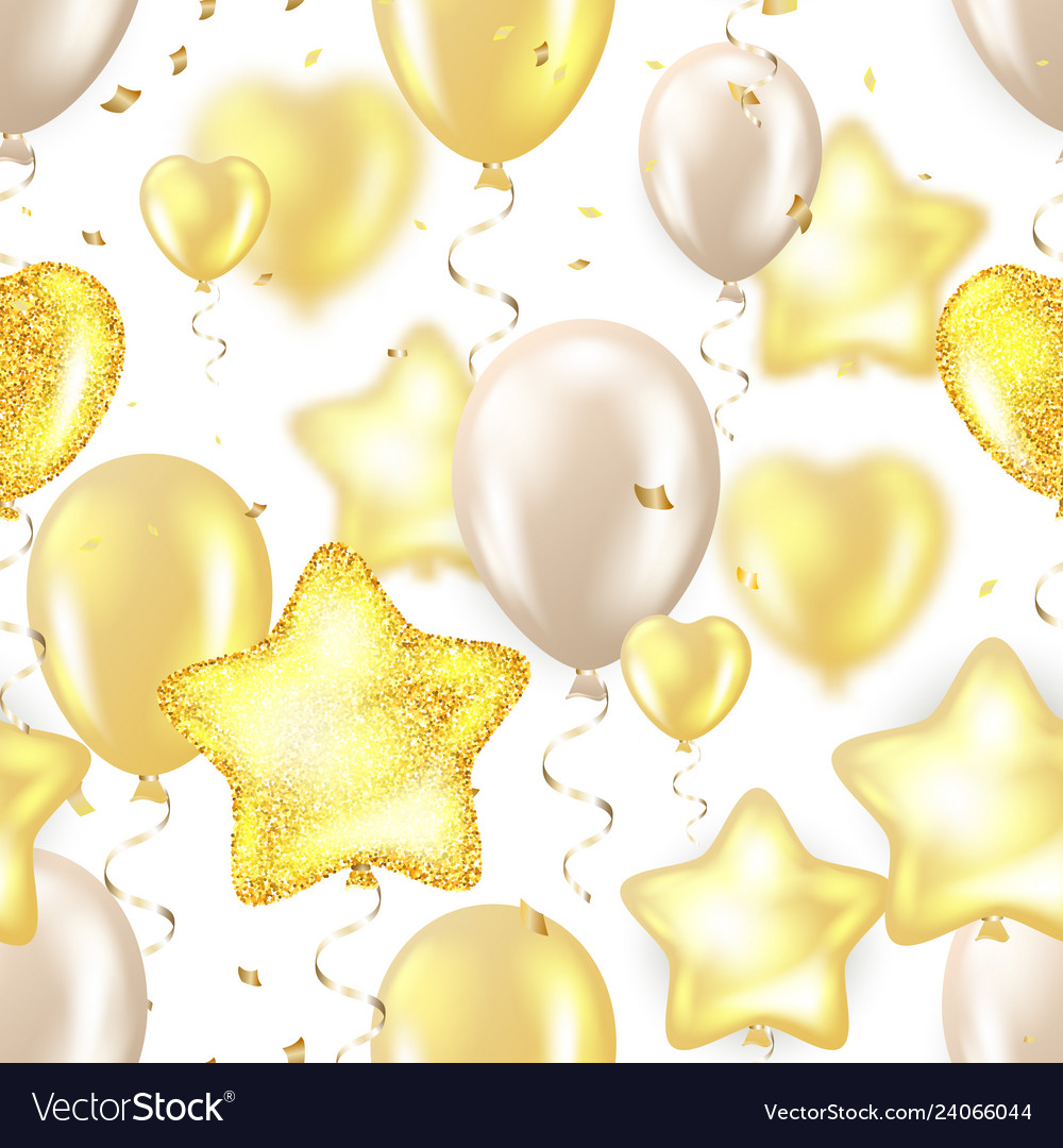 Happy birthday - golden foil