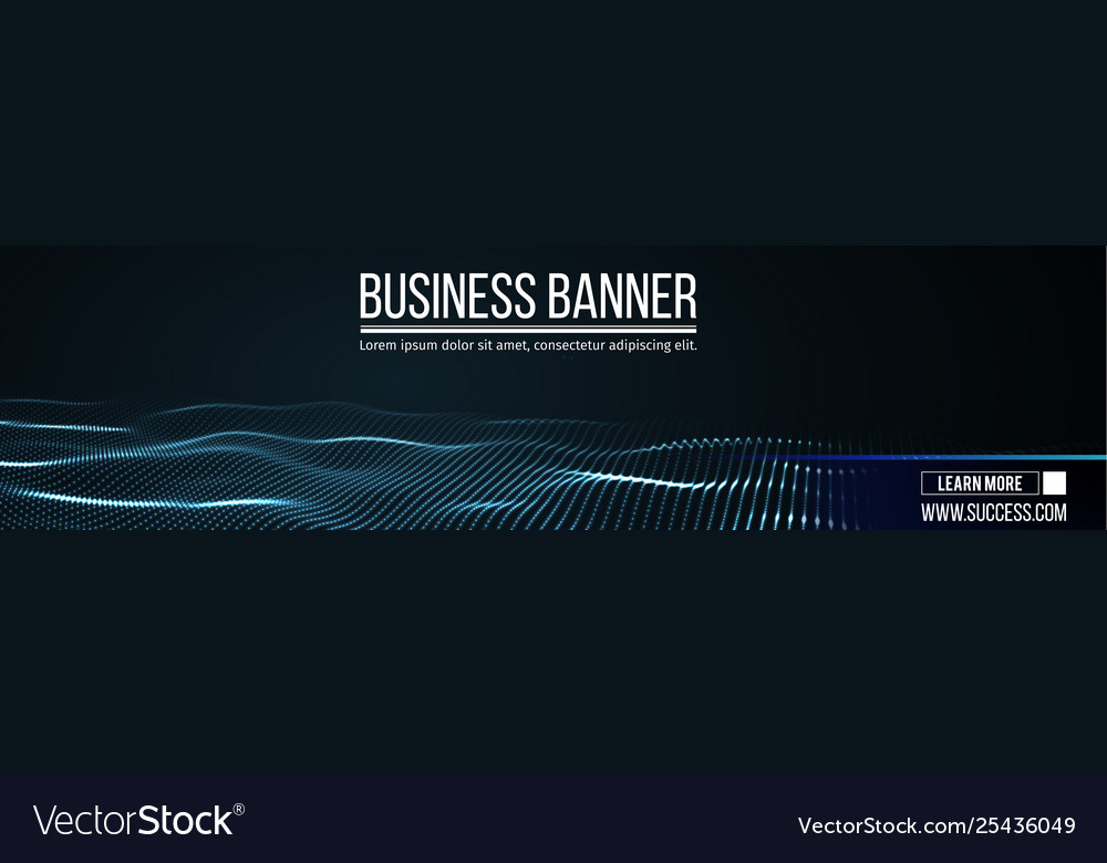Computer banner business banner design eps