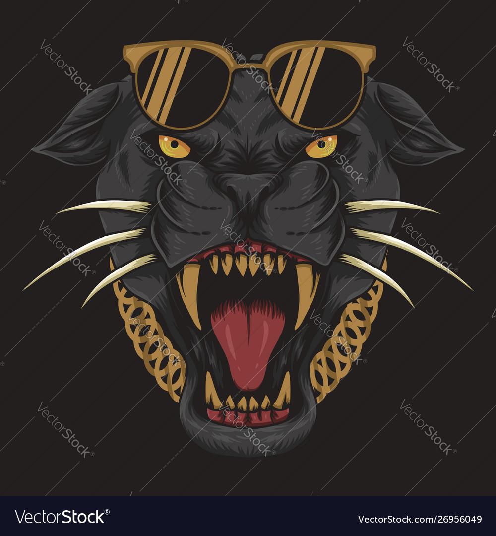 Cool black panther