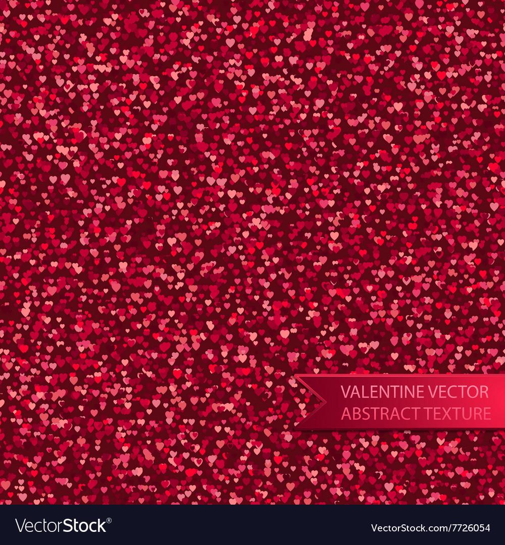 Seamless pink heart spray texture