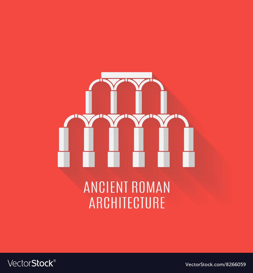 Ancient Roman architecture Long shadows