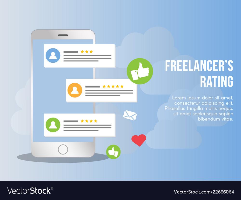 Freelancer Rating Concept Design Template