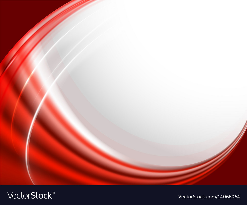 White Background With Red Stripe Royalty Free Vector Image