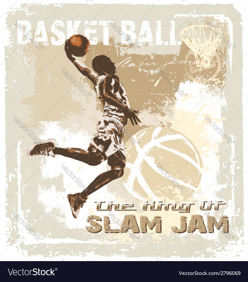 Slam jam basketball