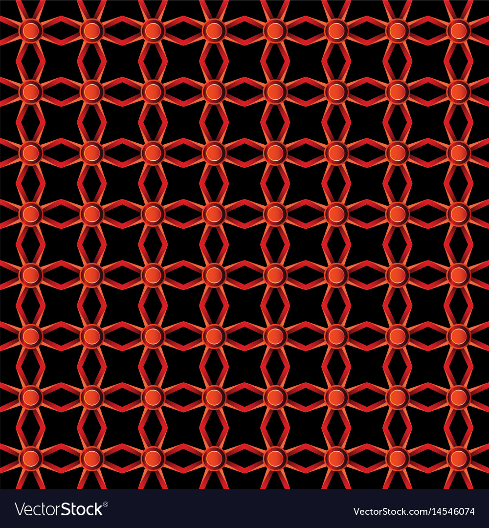 Red colors metal pattern