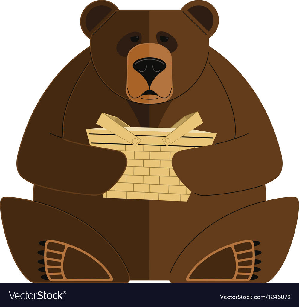Bear with Basket