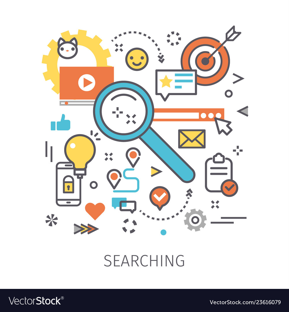 Concept of searching