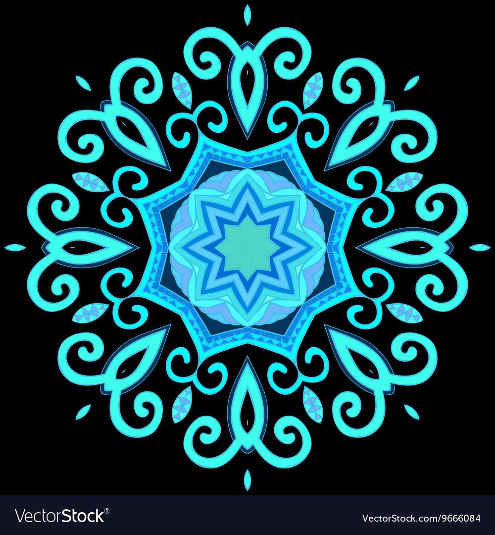 Abstract Hand-drawn Mandala 2