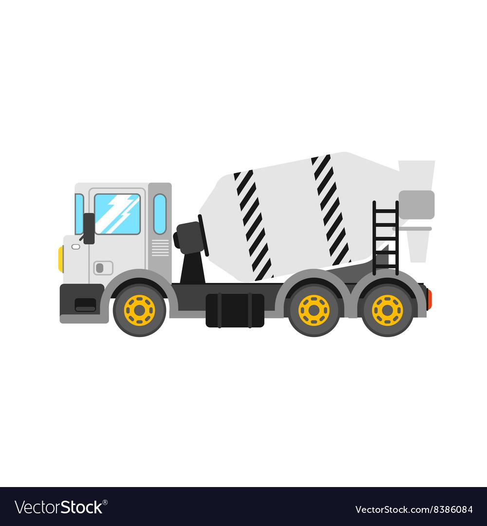 Construction cement mixer truck Building concrete