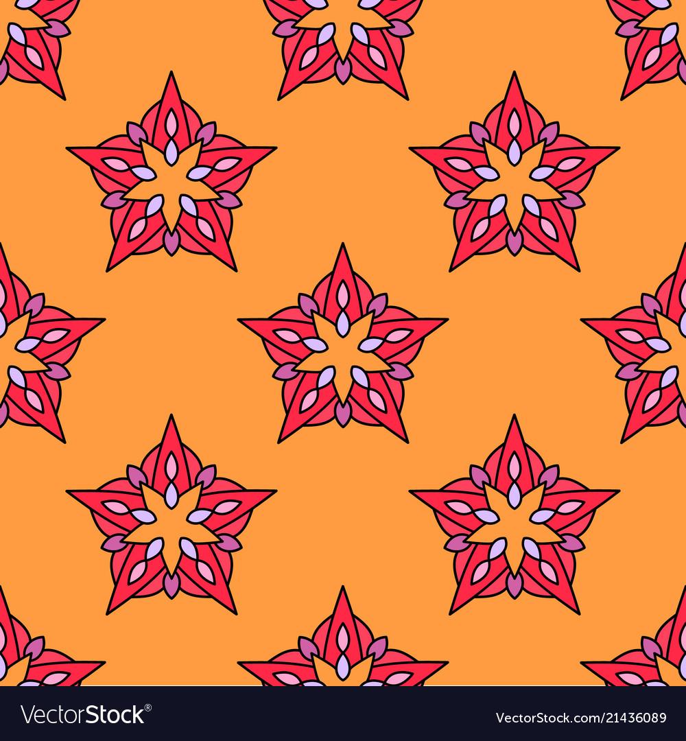 Abstract beautiful seamless pattern