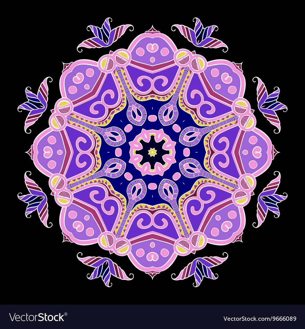 Abstract Hand-drawn Mandala 5