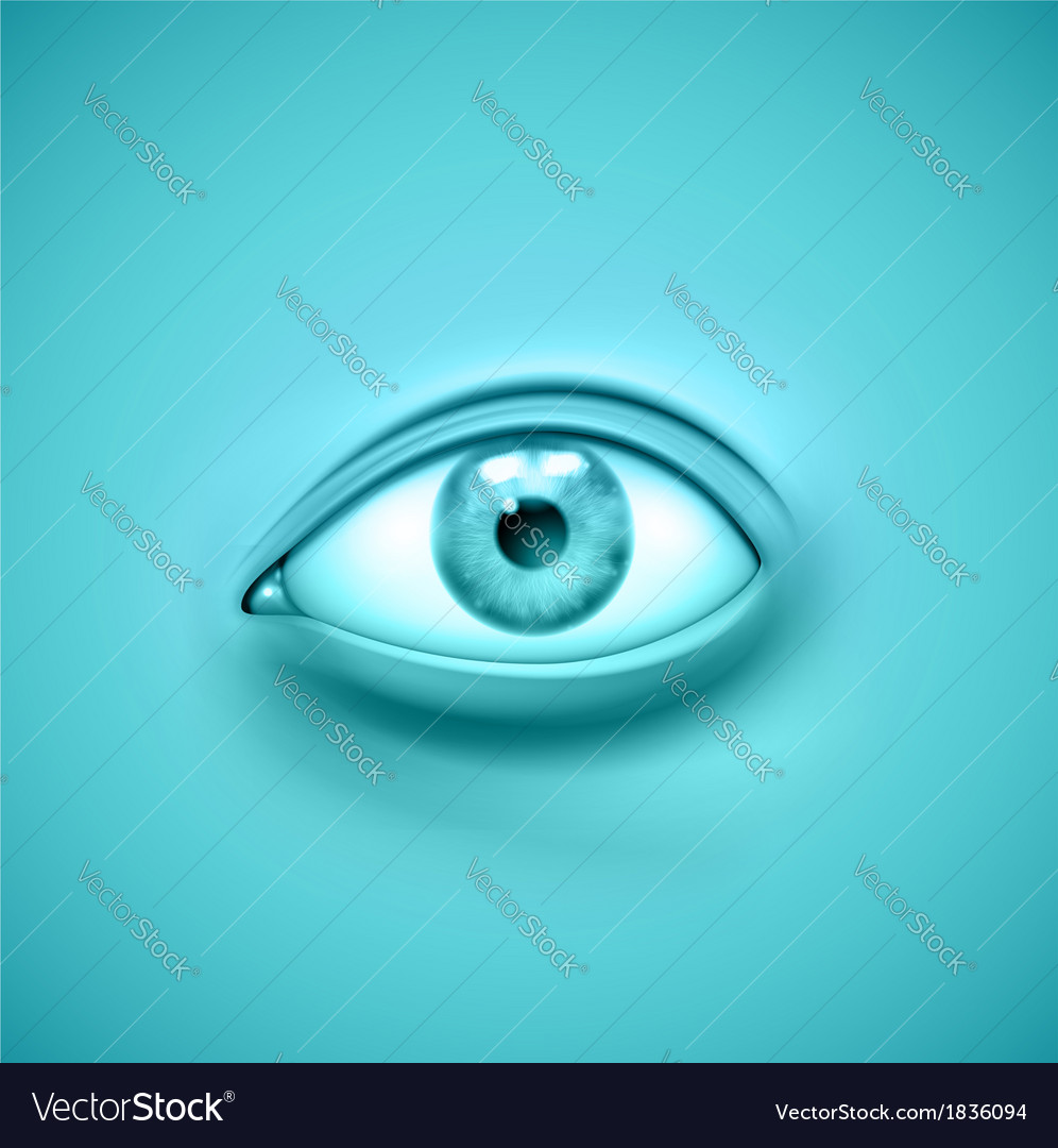 Background with eye