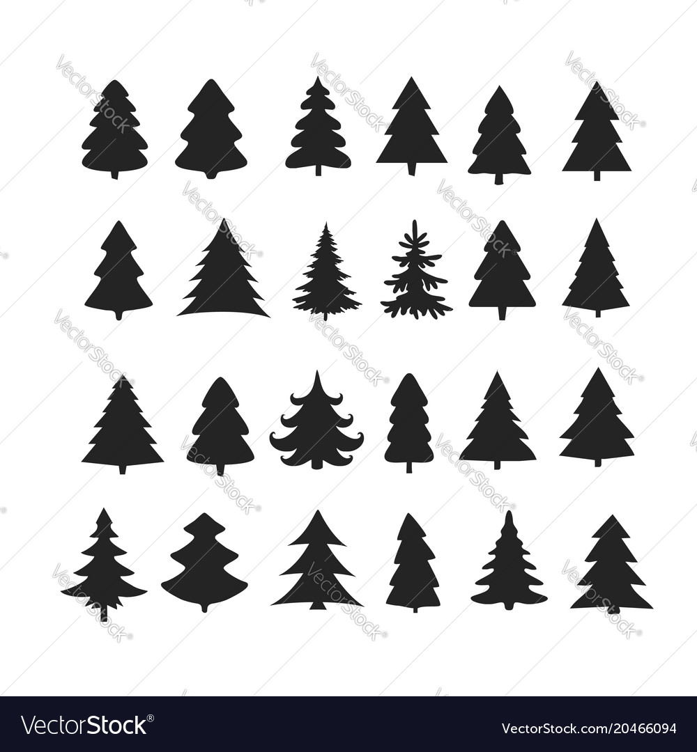 Christmas Tree Vector Image.Ideas For Christmas Tree Vector Art Koolgadgetz
