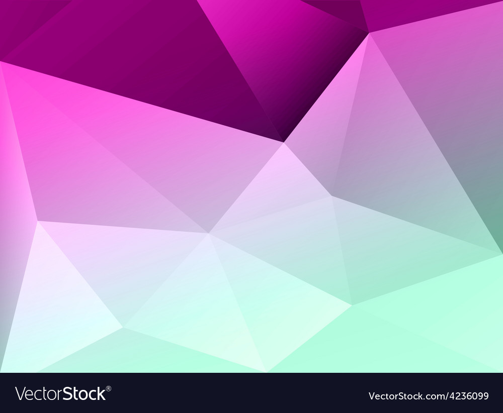 Abstract colorful geometric background Template