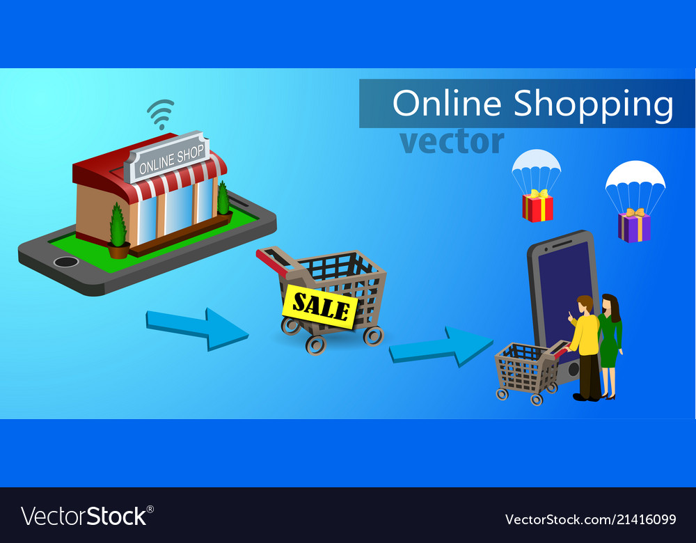 Mobile shopping e-commerce