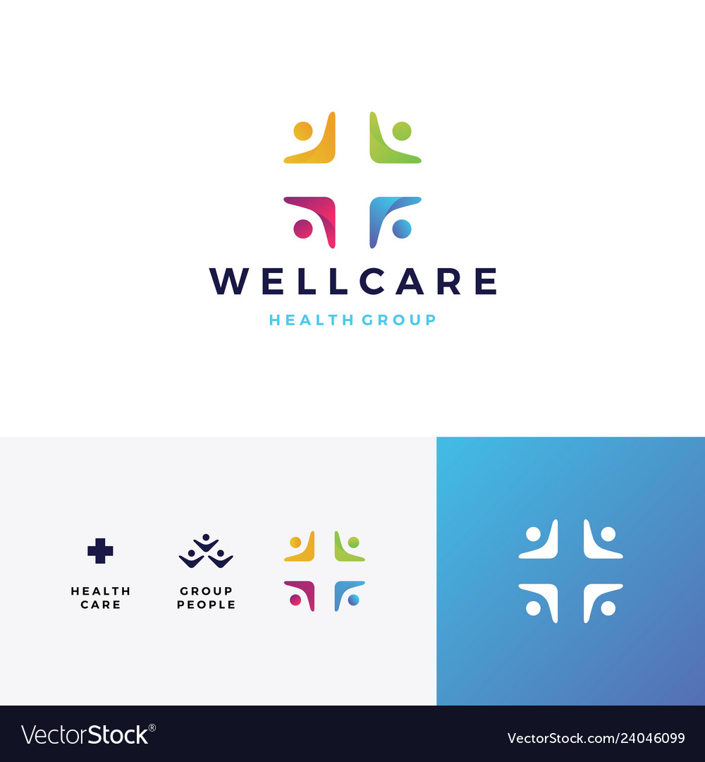 People family health care group logo icon