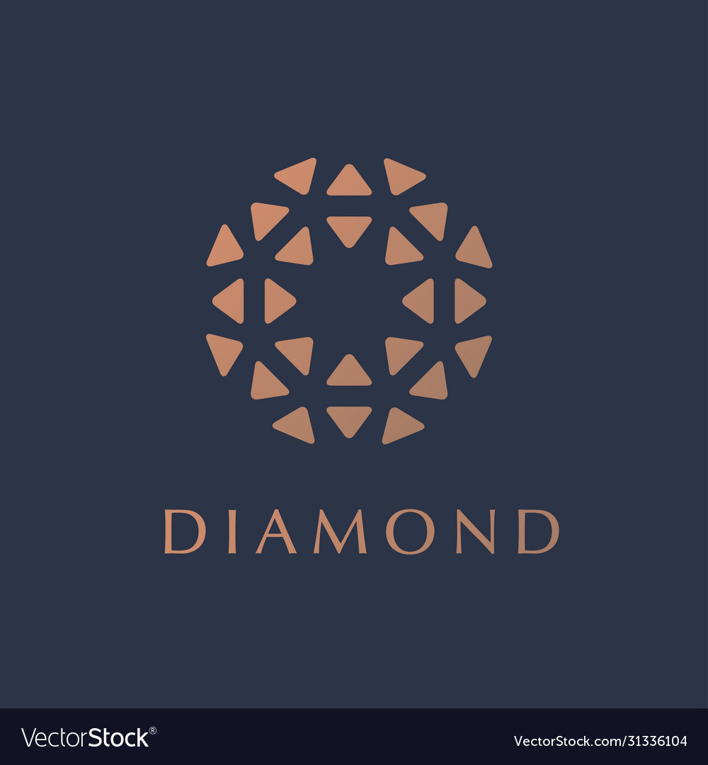 Logo concept for luxury business
