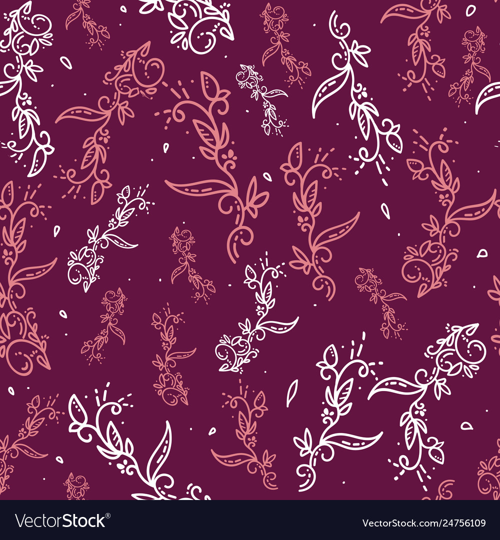 Abstract Floral Background Ornamental Royalty Free Vector