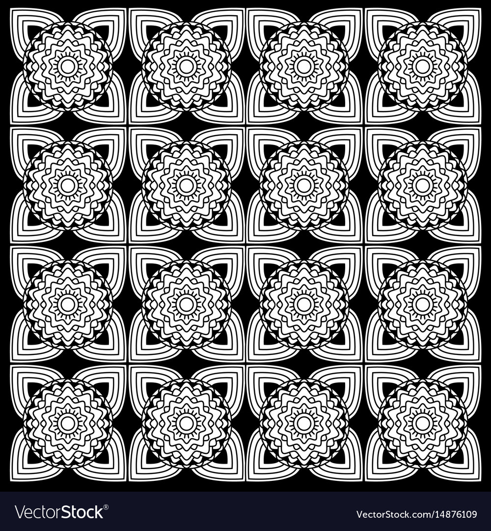 Black and white floral patterns royalty free vector image black and white floral patterns vector image mightylinksfo