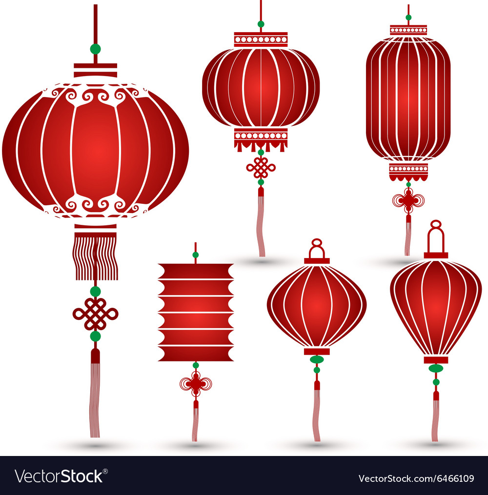 chinese lantern royalty free vector image vectorstock free chinese new year clip art Free Chinese New Year Graphics