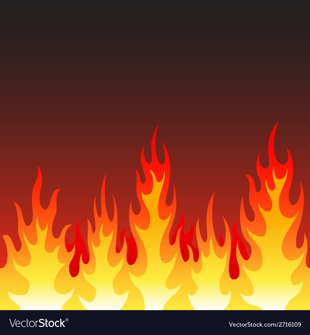 Seamless fire flame background royalty free vector image seamless fire flame background vector image voltagebd Images