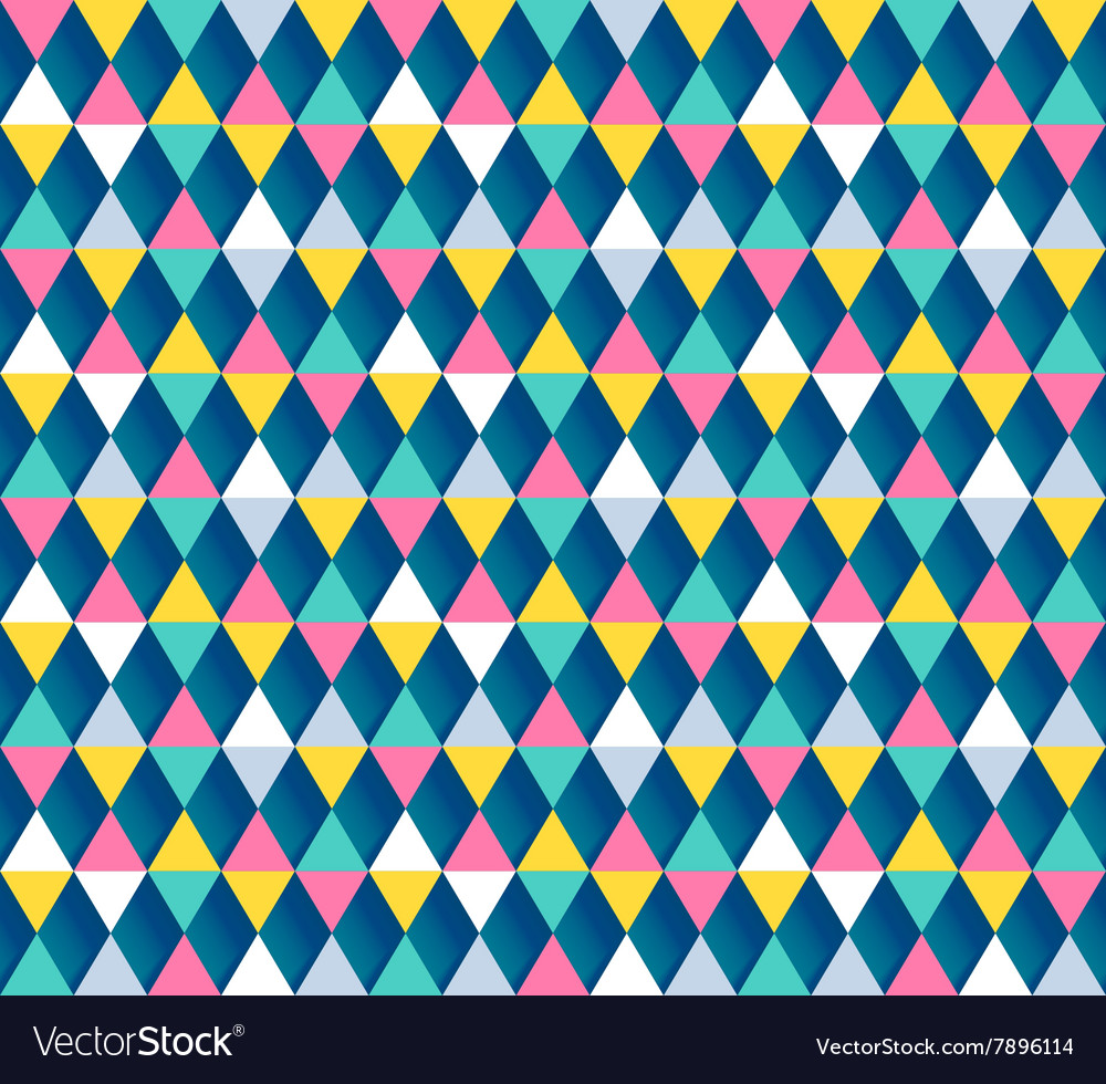 Argyle seamless pattern four color options