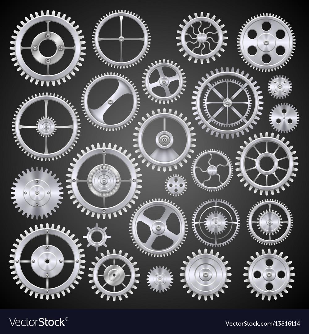 Pinions mechanisms