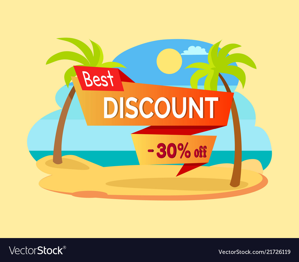 Best discount -30 off poster