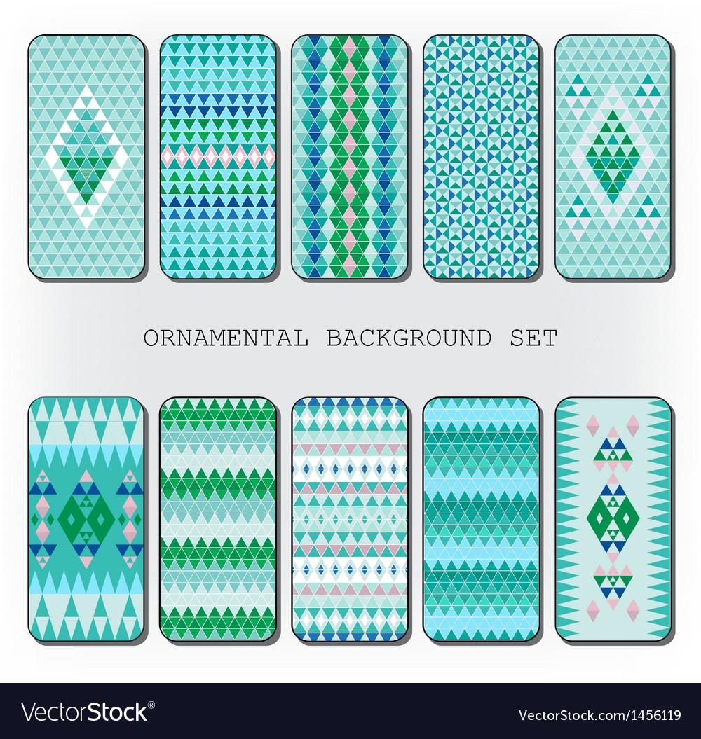 Diamond pattern decor